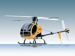 Kyosho mini rc helicopter